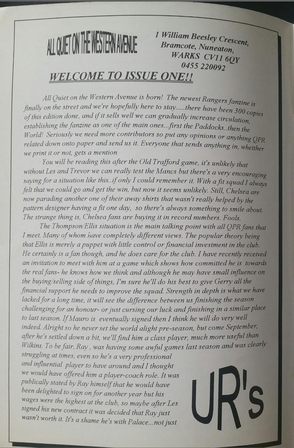 Présentation de son fanzine par Pete Doherty (DR)